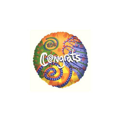 Wow Congrats Balloon