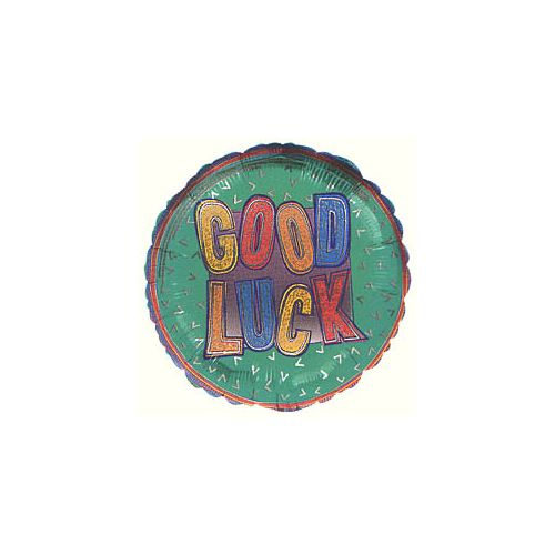 Good Luck Geometric Balloon
