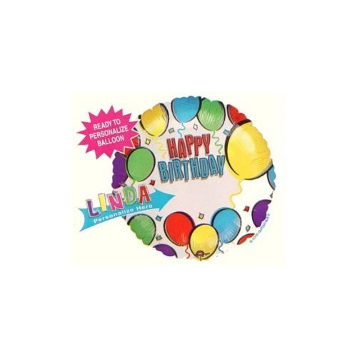 Happy Birthday Personalised Balloon