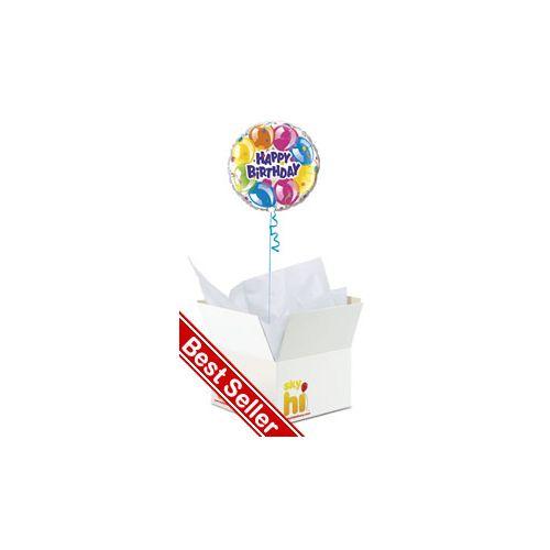 Happy Birthday Balloon in a Box