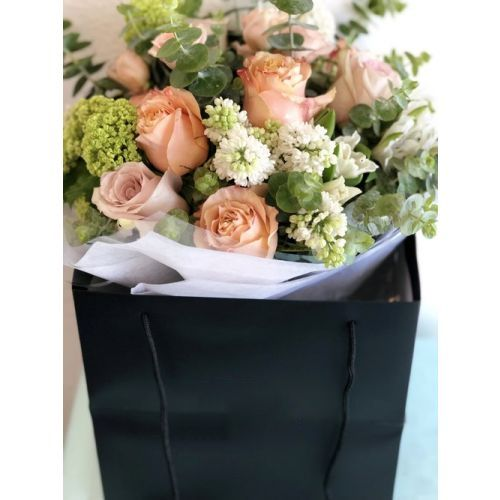 Christine JM Hand tied bouquet MD
