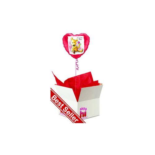 'I Love You' Balloon in a Box