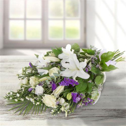 White & Purple Bouquet